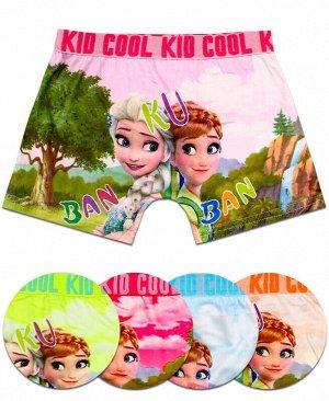 Детские трусы (шорты) для девочки Цвет: микс