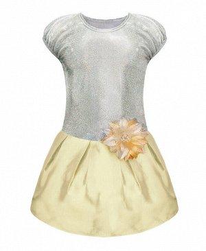 Нарядное белое платье для девочки Цвет: белый
