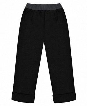 Чёрные брюки для мальчика Цвет: черный