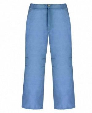 Теплые серые штаны для девочки Цвет: св.серый