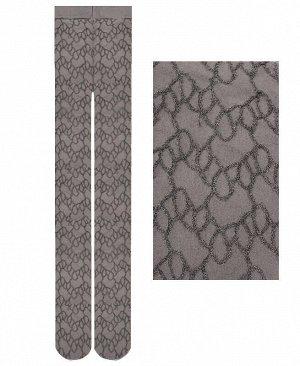 Капроновые колготки для девочки Цвет: серый