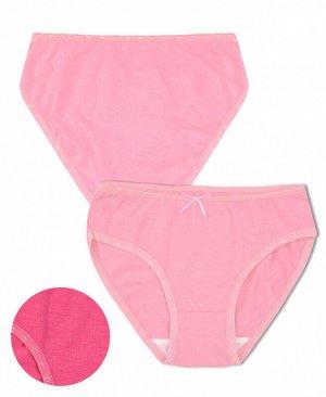 Трусы розовые для девочки Цвет: розовый