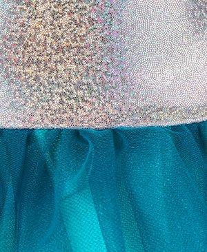 Нарядное платье для девочки Цвет: серебряный