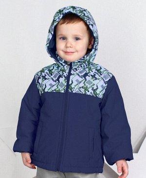 Куртка для мальчика на осень-весну Цвет: индиго