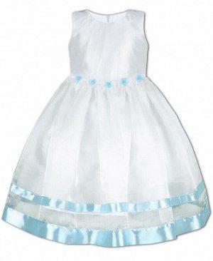 84162-ДН19 Платье р-р.104-134 Цвет: белый
