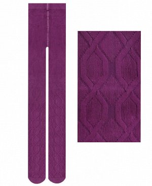 Фиолетовые колготки для девочки Цвет: фиолетовый
