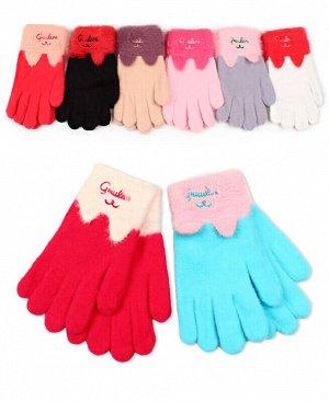 Перчатки для девочки ассортимент Цвет: ассортимент