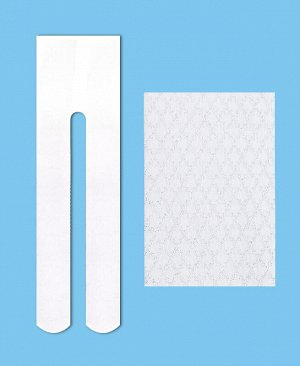 Капроновые колготки для девочки 60 Den Цвет: белый