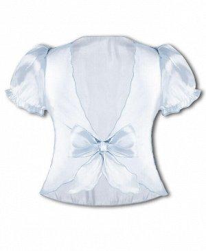 Болеро для девочки белый, рост 110-122 Цвет: белый