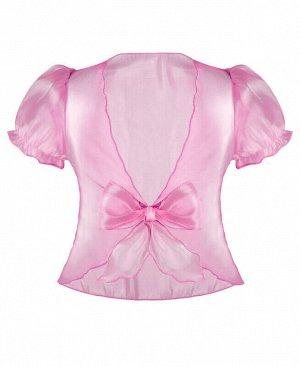 Болеро для девочки розовый, рост 110-122 Цвет: розовый