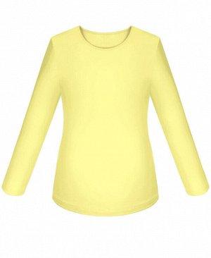 Жёлтый джемпер (блузка) для девочки Цвет: жёлтый