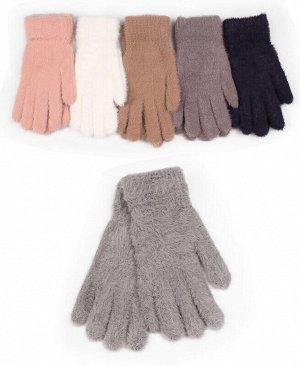 Перчатки для девочки Цвет: черный