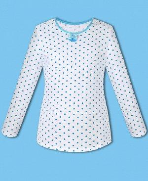 Белая школьная блузка для девочки Цвет: белый