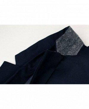 Школьный синий костюм для мальчика Цвет: синий