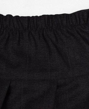 Серая школьная юбка для девочки Цвет: серый