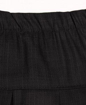 Школьная серая юбка для девочки Цвет: тёмно-серый