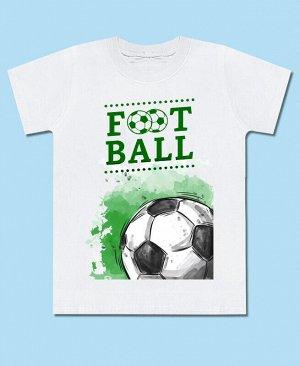 Футболка белая для мальчика Цвет: белый