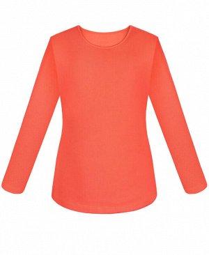 Оранжевая блузка для девочки Цвет: оранж
