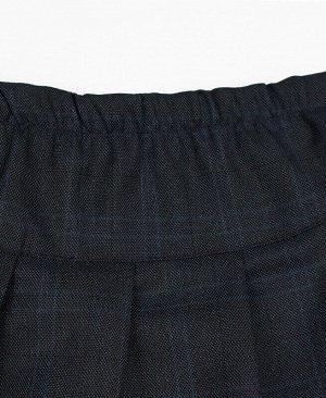 Школьная синяя юбка для двочки Цвет: синий