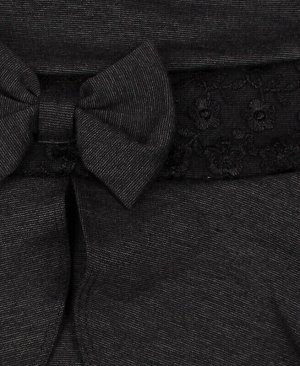 Сарафан серый школьного фасона для девочки Цвет: серый