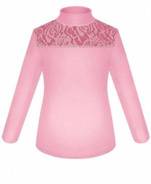 7374-ДШ17 Водолазка (блузка) р.122-158 Цвет: розовый