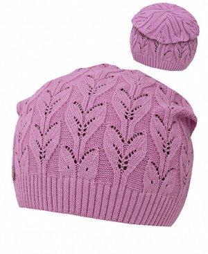 Пурпурная шапка для девочки Цвет: сиреневый