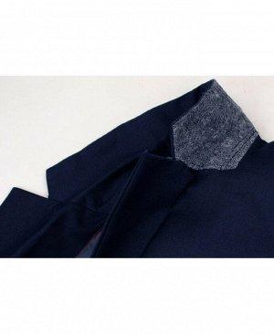 Синий костюм для мальчика Цвет: синий