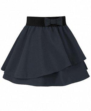 Серая юбка для девочки Цвет: серый