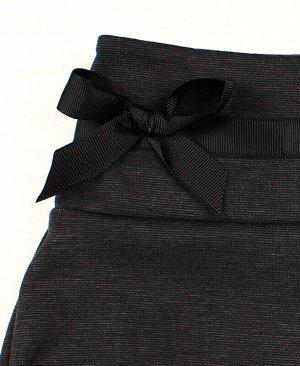 Серые школьные брюки для девочки Цвет: серый