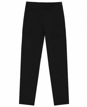 Черные брюки для девочек Цвет: черный