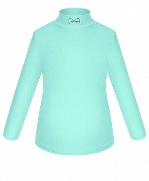 Школьная водолазка (блузка) для девочки Цвет: ментол