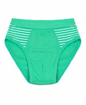 Трусы для мальчика Цвет: зеленый