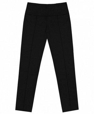 Школьные чёрные брюки для девочки Цвет: черный