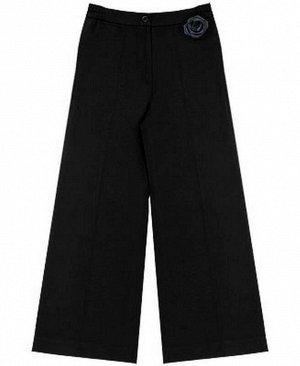 Черные школьные брюки для девочки Цвет: черный