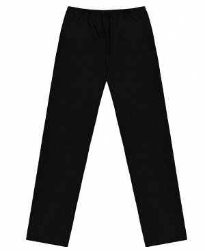 Черные брюки для девочки Цвет: черный