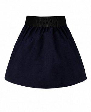 Синяя школьная юбка для девочки Цвет: синий