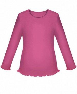 Школьный малиновый джемпер (блузка) для девчоки Цвет: фуксия