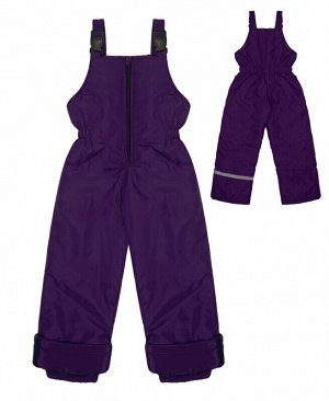 Зимний полукомбинезон фиолетовый Цвет: фиолетовый