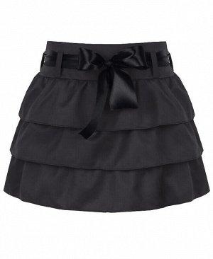 Серая школьная юбка для девочек Цвет: серый
