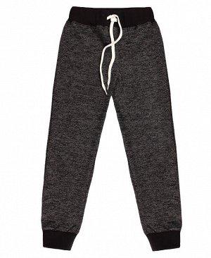Спортивные брюки для девочки Цвет: чёрный меланж