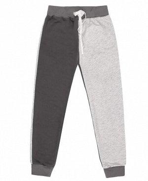 Спортивные брюки для девочки серого цвета Цвет: тёмно-серый
