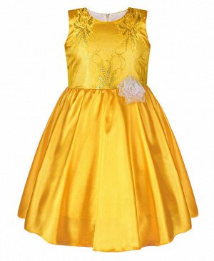 Жёлтое платье для девочки Цвет: жёлтый