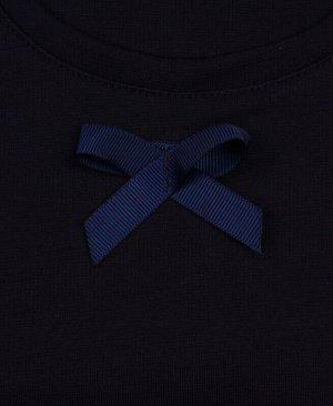 Синий сарафан для девочки Цвет: синий