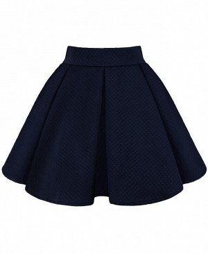 Школьная синяя юбка для девочки Цвет: т.синий