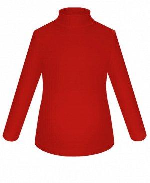 Водолазка красная для девочки Цвет: красный
