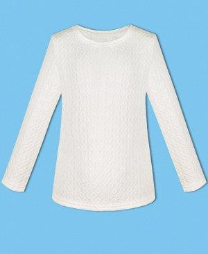 Белый джемпер для девочки. Цвет: белый