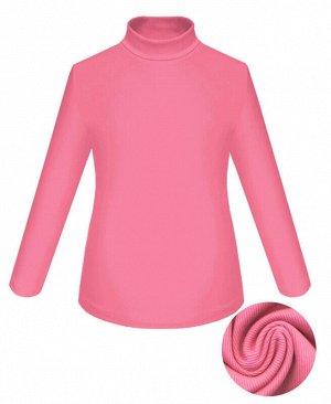 Розовая водолазка для девочки Цвет: розовый