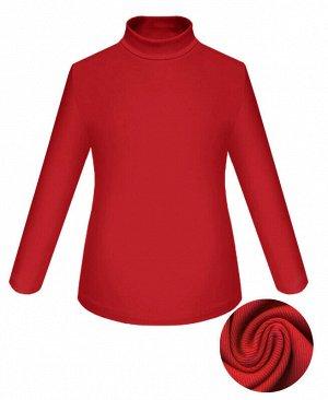 Красная водолазка для девочки Цвет: красный