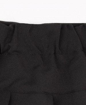 Юбка для девочки из костюмной вискозы,серый Цвет: серый