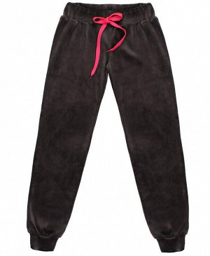 Серые брюки для девочки Цвет: серый
